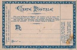 Carte Postale Précurseur Neuve Sténographie - Marcophilie (Lettres)