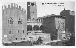 Cartolina Bologna Palazzo Re Enzo E Del Podestà Animata - Bologna