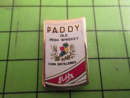 613a Pins Pin's / Rare & De Belle Qualité  THEME : BOISSONS / PADDY OLD IRISH WHISKEY - Beverages