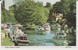 Postcard - River Thames, Hurley - Unused Very Good - Postcards