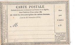 Carte Postale Annonces Précurseur Neuve Optique Fabrique Colliers Pour Chiens - Marcophilie (Lettres)