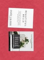 Esstée Lauder BELLE - Perfume Cards