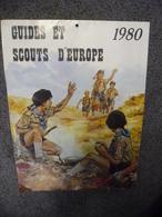 CALENDRIER SCOUTISME 1980 - SCOUT Scouts D'Europe JMJ Pape Jean Paul II - Calendars