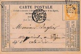 Carte Postale Précurseur De Lure N°55 Ambulant BELP Belfort Paris - Marcophilie (Lettres)