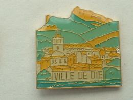 Pin's VILLE DE DIE - Città