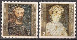 Bulgarien  (1973)  Mi.Nr.  2267 + 2268  Gest. / Used  (2fd06) - Gebraucht