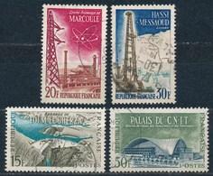 France- Réalisations Techniques YT 1203-1206 Obl - France
