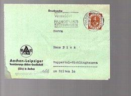 Verlmeldet Rundfunkstörungen > Hans Dick Wuppertal-Wichlinghausen (B8-25) - Briefe U. Dokumente