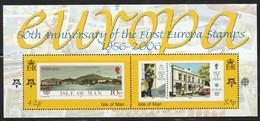 ILE De MAN - BLOC N° 63 ** (2006) Cinquantenaire Des émissions Europa - Man (Insel)