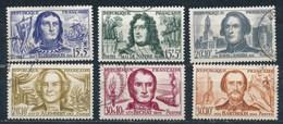 France- Célébrités 1959 YT 1207-1212 Obl - France