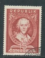 ÖSTERREICH Mi. Nr. 965 150. Todestag Von Martin Johann Schmidt - Used - 1945-.... 2. Republik