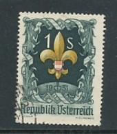 ÖSTERREICH Mi. Nr. 966 7. Weltpfadfindertreffen, Bad Ischl - Used - 1945-.... 2. Republik