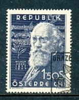 ÖSTERREICH Mi. Nr. 967 10. Todestag Von Wilhelm Kienzl - Used - 1945-.... 2. Republik