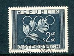 ÖSTERREICH Mi. Nr. 969 Olympische Spiele, Oslo Und Helsinki - Used - 1945-.... 2. Republik