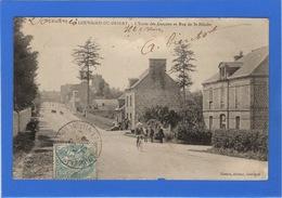 35 ILLE ET VILAINE - LOUVIGNE DU DESERT L'Ecole Des Garçons Et Rue De St-Hilaire - France