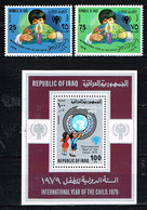 "Kind & Jugend ""Annee Internationale De L` Enfant 1979"", IRAQ ,  Mi. 1008-1009 + Block 31,  Postfr. / MNH / Neuf - Kind & Jugend"