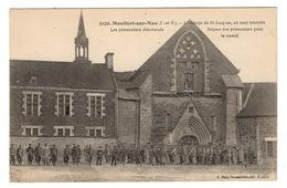 35 ILLE ET VILAINE - MONTFORT SUR MEU Prisonniers Allemands - Autres Communes