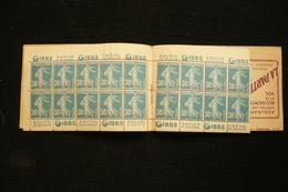 Carnet S102  N°192 C 2 Gibbs La Redoute Oxymenthol .... - Booklets