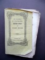 Gli Scacchesi E I Maltraversi Romanzo Storico Di Cesare Monari Chierici 1854 - Livres, BD, Revues