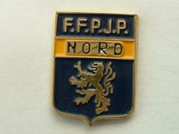 Pin's F.F.P.J.P - NORD - Bowls - Pétanque