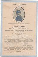 Image Pieuse Mortuaire - Soldat Du 75° RI - Hôpital Militaire De Valréas (84) , 1915 - WW1, Scan Recto Verso - Devotion Images