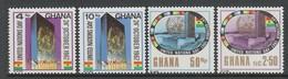 SERIE NEUVE DU GHANA - JOURNEE DES NATIONS UNIES N° Y&T 299 A 302 - ONU