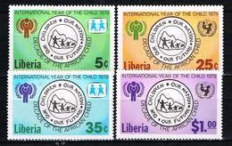 """Kind & Jugend """"Annee Internationale De L` Enfant 1979"""", LIBERIA , Decade Der Afrik. Kinder  Postfr. / MNH / Neuf - Kind & Jugend"""