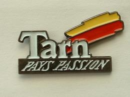 Pin's TARN - PAYS PASSION - Città