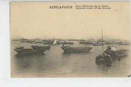 ASIE - SINGAPOUR - SINGAPORE - Vue Générale De La Rade - Singapour