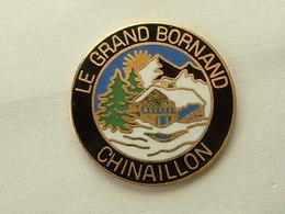Pin's LE GRAND BORNAND - CHINAILLON - EMAIL - Città
