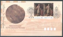 AUSTRALIA  - FDC - 1.11.1996 - TERCENTENARY DE VLAMINGH'S VOYAGE - Yv 2X1545 - Lot 18624 - FDC