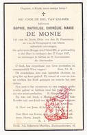 DP Sophie Math. De Monie Demonie ° Brugge 1881 † 1937 - Images Religieuses