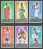 Togo YT N°499/504 Costumes Et Danses Neuf ** - Togo (1960-...)