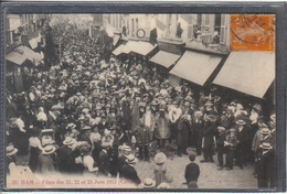 Carte Postale 80. Ham  Cavalcade  Très Beau Plan - Ham