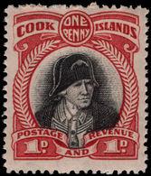 Cook Islands 1944-46 1d Captain Cook Unmounted Mint. - Cook Islands