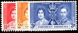 Northern Rhodesia 1937 Coronation Unmounted Mint. - Northern Rhodesia (...-1963)
