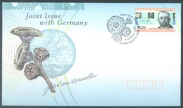 AUSTRALIA  - FDC - 9.10.1996 - JOINT ISSUE WITH GERMANY VON MUELLER - Yv 1563 - Lot 18625 - Premiers Jours (FDC)