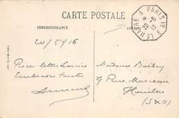 PIE-SDV-18-8027 : CACHET HEXAGONAL. LE HAVRE A PARIS 1° DU  20 MAI 1916 - Poststempel (Briefe)