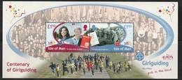 ILE De MAN - BLOC N° 79 ** (2010) Scoutisme - Centenaire Des Guides - - Man (Ile De)