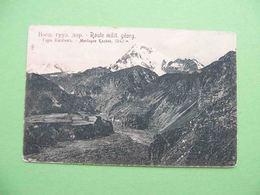 GEORGIA 1910x Mount KAZBEK. Russian Postcard. - Géorgie