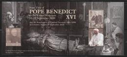 ILE De MAN - BLOC N° 83 ** (2010) Visite Du Pape Benoît XVI - Man (Ile De)