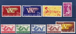 Vietnam Du Sud (Poste Aérienne) PA1 - PA2 - PA3 - PA4 - PA5 - PA6 - PA7 - PA8 Année 1952 MNH** - Viêt-Nam