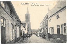 Baelegem NA3: Dorpstraat 1912 - Oosterzele
