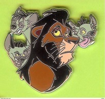 Pin's BD Disney Scar Hyènes (Le Roi Lion) - 6Y22 - Disney