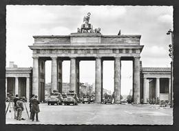 BERLIN BRANDENBURGER TOR 1963 - Porte De Brandebourg