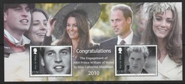 ILE De MAN - BLOC N° 85 ** (2010) Prince Willian Et Miss Catherine Middleton - Man (Ile De)