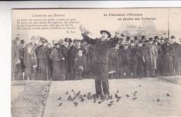 PARIS. LE CHARMEUR D'OISEAUX AU JARDIN DES TUILERIES. L'ASSIETTE AU BEURRE. H.POL. J.H. NON CIRCULEE CIRCA 1900's- BLEUP - France