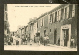 CP-BASSOUES-D'ARMAGNAC - Rue De L'Industrie - Other Municipalities