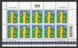 10x ESTONIA - MNH - Europa-CEPT - Children - 2000 - Europa-CEPT