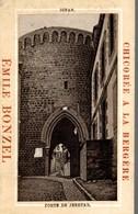 CHROMO  CHICOREE A LA BERGERE E. BONZEL HAUBOURDIN  DINAN PORTE DE JERZUAL - Kaufmanns- Und Zigarettenbilder